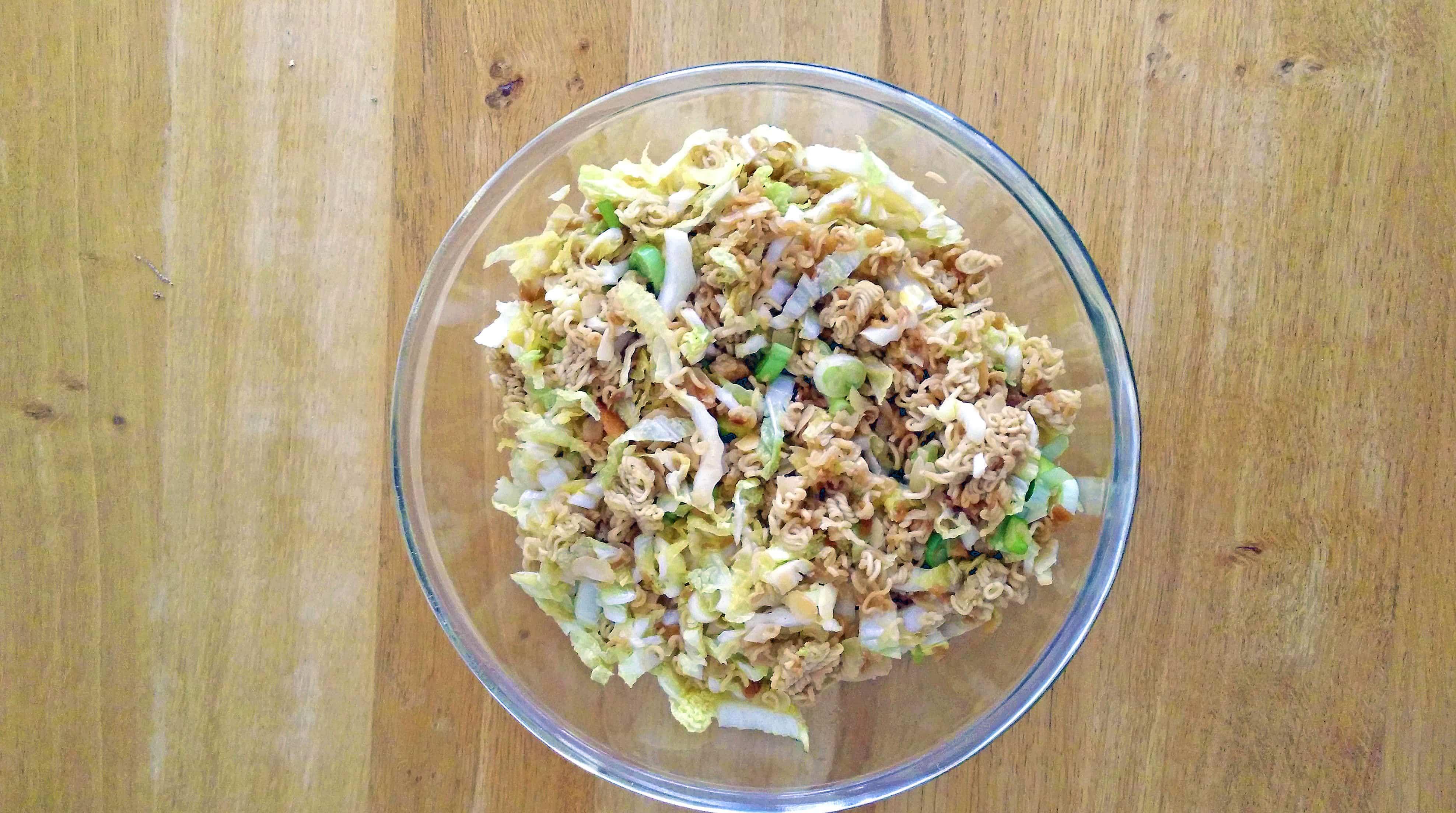 Chinakohlsalat asiatisch