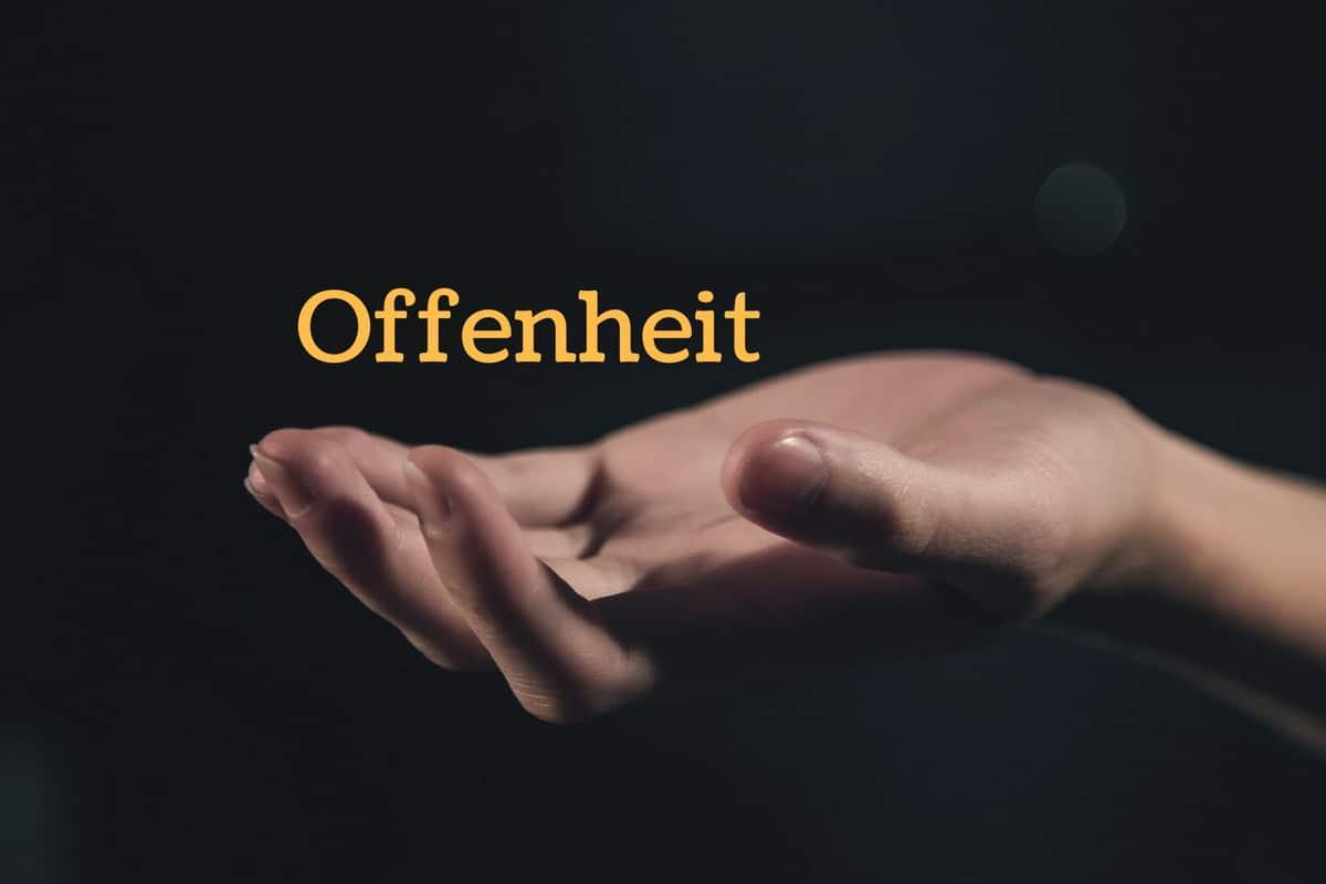 Offenheit für Gott